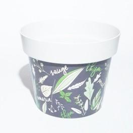 Pot  blanc cassé aromatique